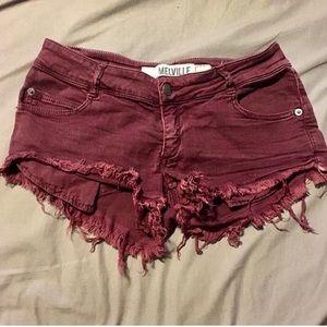 Brandy Melville distressed shorts, 28